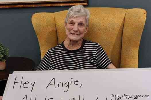 'Don't worry about me - I'm playing bingo': Care home residents share heartwarming messages for concerned families