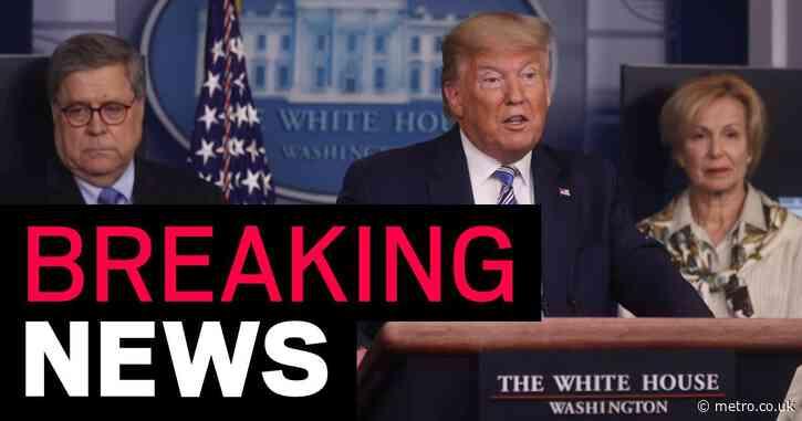 Donald Trump announces it is a crime to hoard 'scarce' supplies amid coronavirus crisis