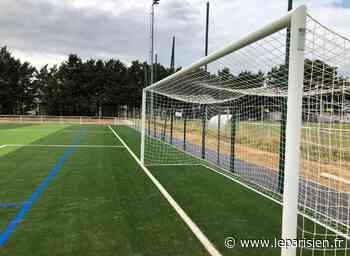 Tournan-en-Brie : une piste d'athlétisme et un terrain de foot synthétique pour les sportifs - Le Parisien