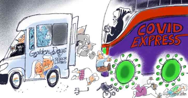 Bagley Cartoon: Granny Under the Bus