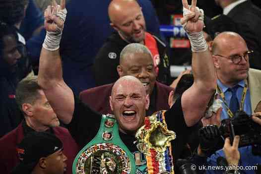 Tyson Fury urges UK to stay on lockdown: 'I've taken it deadly seriously, as should you'