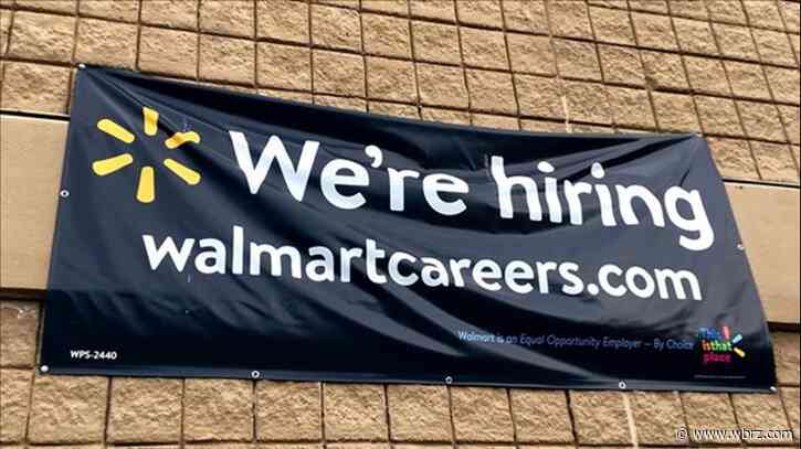 Walmart hiring 3,500 associates in La.; offering benefits, competitive pay, bonuses