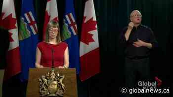 Coronavirus outbreak: Dr. Hinshaw cautions Albertans from planning trips to provincial parks