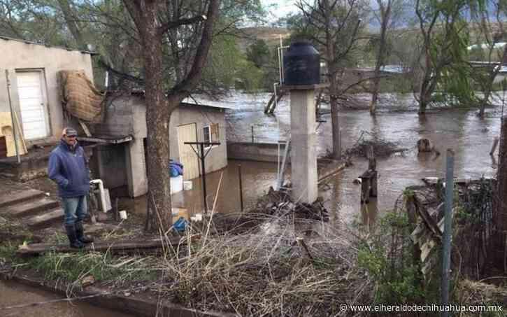 Evacuan a 50 familias en Nuevo Casas Grandes - El Heraldo de Chihuahua