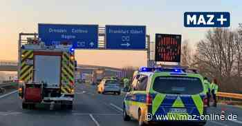 Verkehr - Tödlicher Unfall auf der A113 – 50-Jähriger von Lastwagen überfahren - Märkische Allgemeine Zeitung
