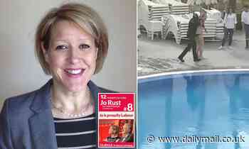 British woman dragged out of Tenerife pool by police is hard-left unionist rabble rouser