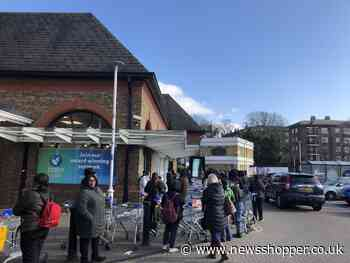 NHS staff queue for over an hour outside Lewisham Tesco in opening time mix-up - News Shopper