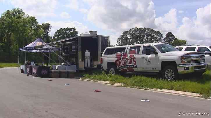 Walk-On's rolls with restrictions, rolls out food truck