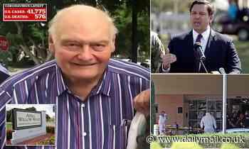 Florida governor blames Fort Lauderdale senior living facility for three coronavirus deaths