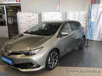 Vendo Toyota Auris 1.8 Hybrid Lounge usata a Curno, Bergamo (codice 7218739) - Automoto.it - Automoto.it