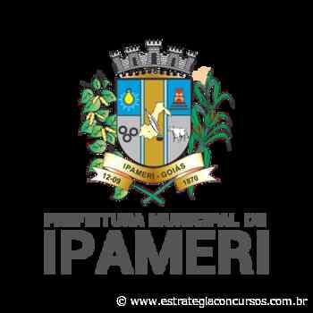 Provas do concurso Prefeitura de Ipameri foram adiadas - Estratégia Concursos