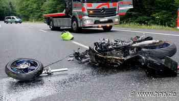 61-jähriger Motorradfahrer bei Bottendorf tödlich verletzt - hna.de