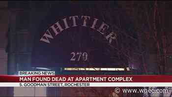 Police: Man found dead at apartment building on South Goodman Street