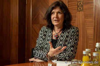 Baden-Badens Oberbürgermeisterin Mergen vorsorglich im Home-Office