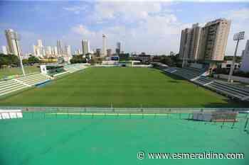 Confira as fotos atualizadas da ampliação do estádio da Serrinha - Goiás Esporte Clube
