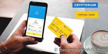 Crypterium (CRPT) Virtual Card Facilitates Using Cryptocurrencies to Order Online during Quarantine - The Cryptocurrency Analytics