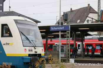 Schorndorf - Stellwerkstörung: Verspätungen und Ausfälle - Zeitungsverlag Waiblingen