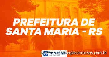 Provas do concurso Prefeitura de Santa Maria - RS são SUSPENSAS - Estratégia Concursos