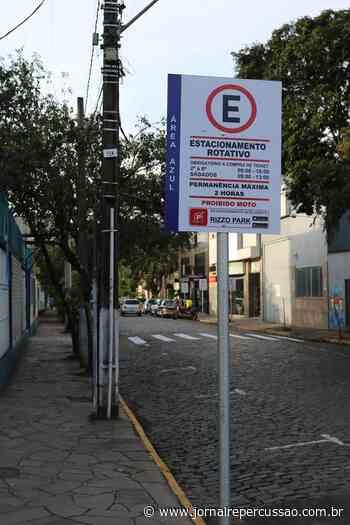 Tempo de área azul no Centro de Sapiranga - Jornal Repercussão