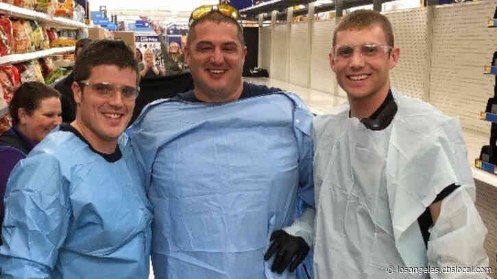 'Oh My Gosh': Firefighters Help Woman Give Birth In Toilet Paper Aisle Of Walmart Store