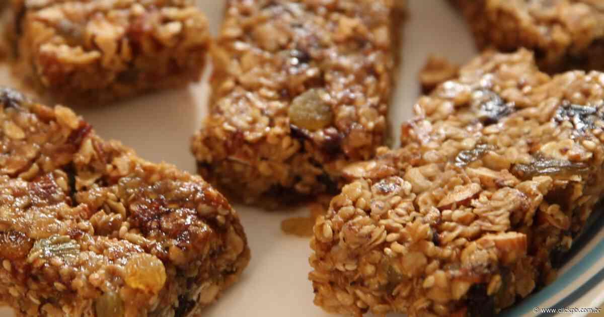 Barrinha de Cereal caseira para ajudar nos dias de quarentena - ClickPB