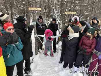 Kuujjuaq celebrates new trail opening - Nunatsiaq News