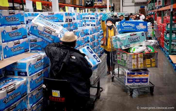 Coronavirus: Websites Track Toilet Paper Supplies At Costco, How Long They Will Last