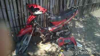 Acidente entre moto e carro deixa ferido em Matriz de Camaragibe - G1