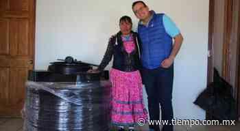 Otorga Municipio tinaco a comedor comunitario Tarahumara - El Tiempo de México