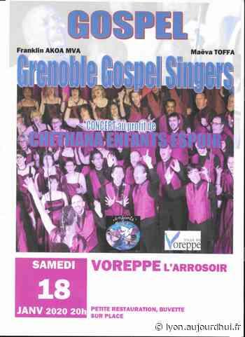 GRENOBLE GOSPEL SINGERS - L'ARROSOIR, Voreppe, 38340 - Sortir à Lyon - Le Parisien Etudiant - Le Parisien Etudiant