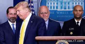 Assessor da Casa Branca está com suspeita de coronavírus - R7