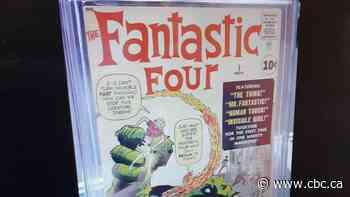 $50K in rare Fantastic Four comic books stolen from Calgary shop