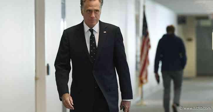 Sen. Mitt Romney tests negative for COVID-19; Rep. Ben McAdams remains hospitalized.
