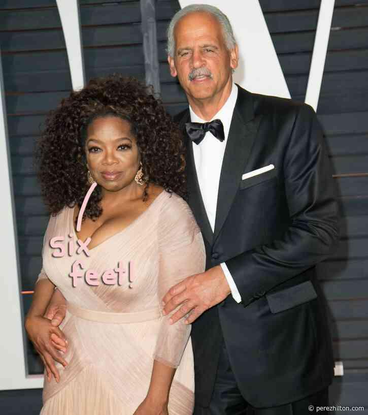 Oprah & Stedman Aren't Quarantining Together!