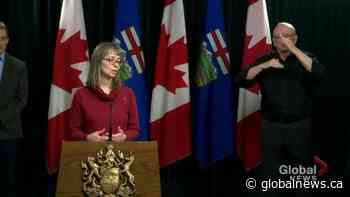 Hinshaw cautions Albertans about home tests for COVID-19