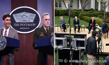 Chairman of the joint chiefs warns coronavirus will NOT be over by Easter