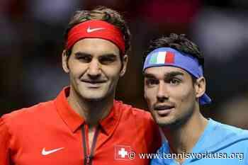 """Fabio Fognini: """"My idol is always Roger Federer"""" - Tennis World USA"""
