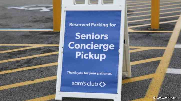 Sam's Club announces special hours, concierge service for seniors during public health emergency