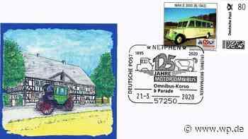 Briefmarkenfreunde Netphen bieten Marken zum Busjubiläum - Westfalenpost