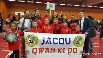Jacou : le club de Qwan Ki Do s'illustre lors de la 39e Coupe de France - Midi Libre
