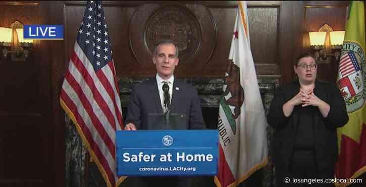 Garcetti Says City Will Close Businesses In Violation Of Coronavirus Orders