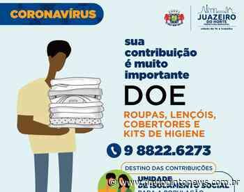 Juazeiro do Norte inicia campanha de doações para Unidade de Isolamento Social - Flavio Pinto