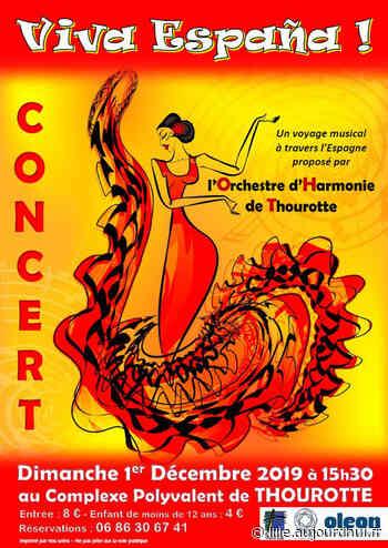 """Concert """"Viva España !"""" - Complexe Polyvalent Edouard Pinchon, THOUROTTE, 60150 - Sortir à Lille - Le Parisien Etudiant - Le Parisien Etudiant"""