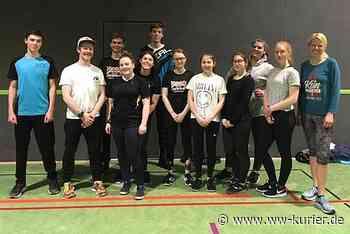 Profitraining für Strongmanrun-Gruppe des Jugendzentrums Hachenburg - WW-Kurier - Internetzeitung für den Westerwaldkreis