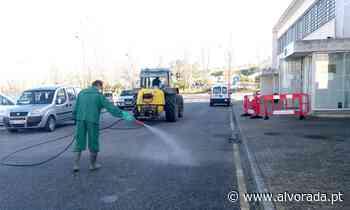 COVID-19: União das Freguesias de Lourinhã e Atalaia faz desinfecção de arruamentos - Jornal Alvorada