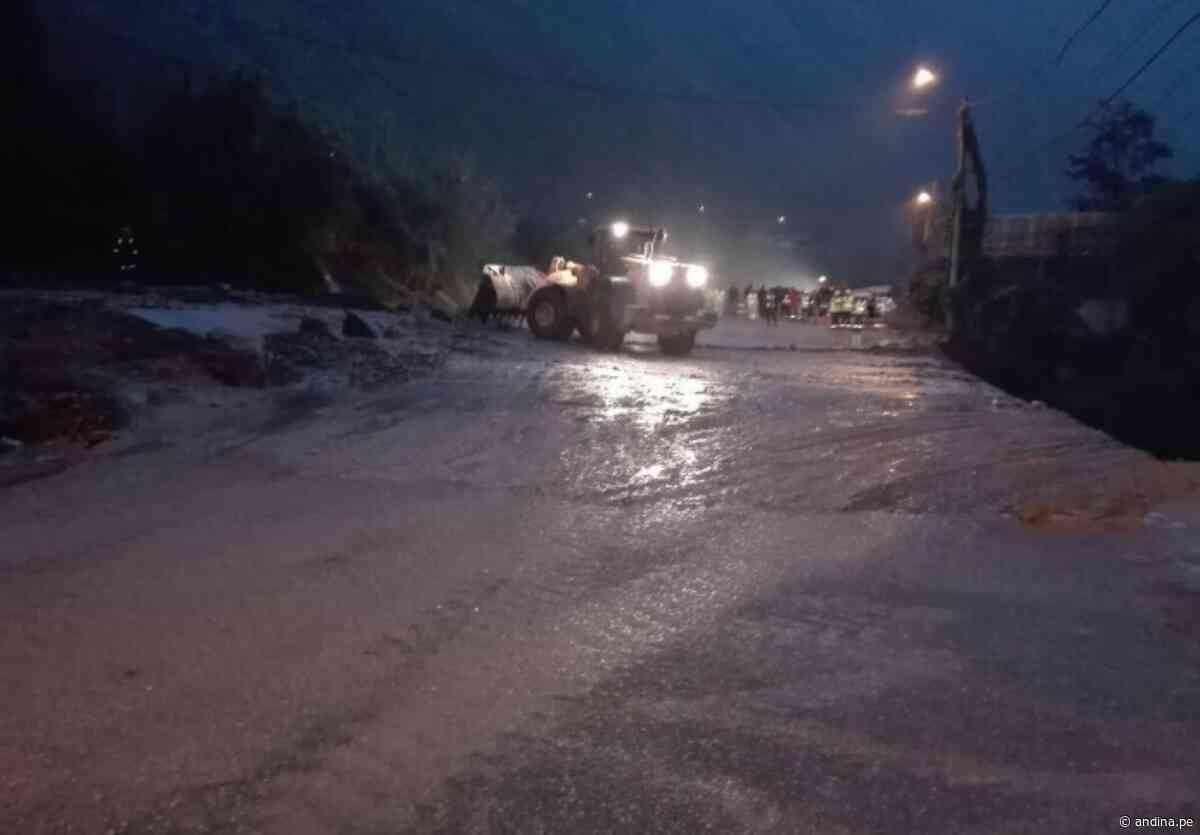 Ayacucho: autoridades atienden emergencias en los distritos de Santa Lucía y Ayna - Agencia Andina