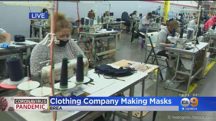 T-Shirt Manufacturer Makes Free Masks To Help Coronavirus Responders, Keep Workers Employed