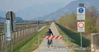 Coronavirus, piste ciclabili chiuse, ma a Mattarello e Ravina al mattino le barriere non ci sono - Trentino