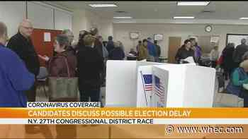 Jacobs, McMurray split on postponing NY special election