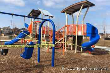 Playgrounds in Bradford West Gwillimbury are now closed - BradfordToday